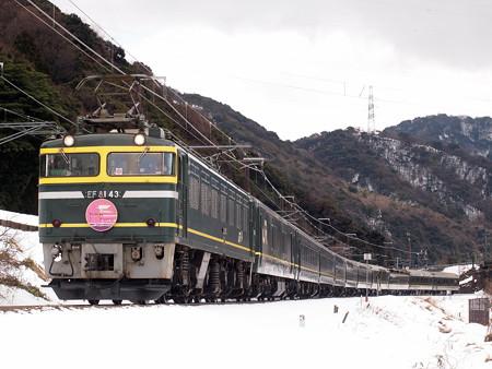 EF81 寝台特急トワイライトエクスプレス 北陸本線新疋田~敦賀