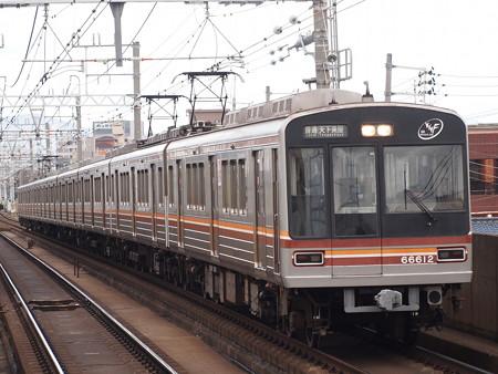 大阪市営地下鉄66系 阪急京都線上新庄駅