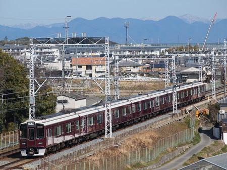 阪急9300系特急 阪急京都線西山天王山~大山崎01