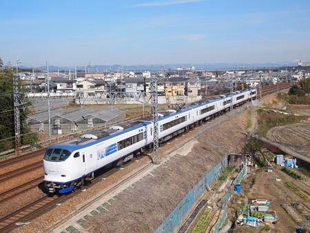 281系特急はるか東海道本線長岡京~山崎02