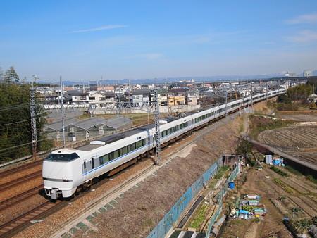 683系特急サンダーバード東海道本線長岡京~山崎02