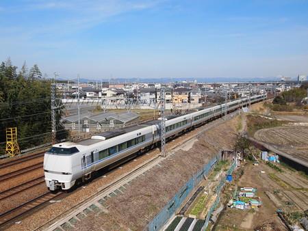 683系特急サンダーバード東海道本線長岡京~山崎04
