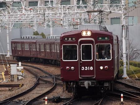 阪急3300系準急 阪急京都線梅田駅