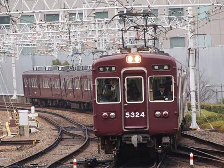 阪急5300系普通  阪急京都線梅田駅02