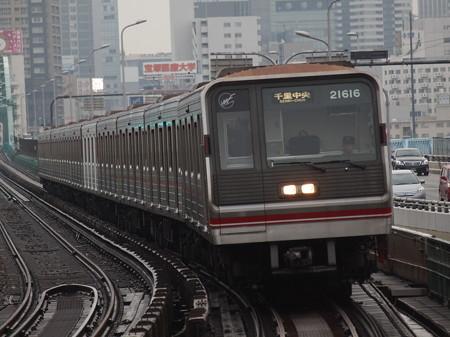 大阪市営地下鉄20系 御堂筋線西中島南方駅06
