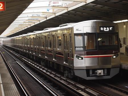 北大阪急行9000形 御堂筋線西中島南方駅