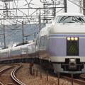 写真: E351系特急スーパーあずさ 中央本線豊田~八王子02