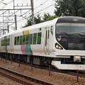 写真: E257系特急かいじ 中央本線豊田~八王子