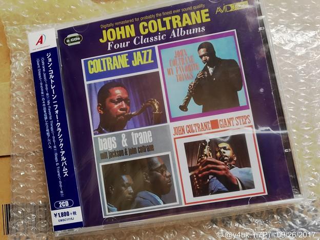 Photos: John Coltrane/Four classic albums ~Autumn is Jazz~輸入盤4アルバム入り2CDはお得