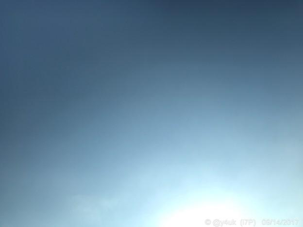 写真: 太陽からgradation ~雲ひとつない秋晴れ~こんな日10.27Go