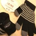 写真: 2℃~ペンギンがいた!~スマホ手袋~昨年買った~今年初使用~寝ながらiPad用+就寝時防寒用グッズの1つ他5武装