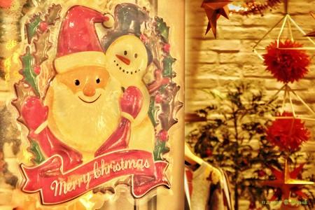 温かい出入り口 〜Santa & Snowman