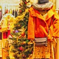 写真: Xmas Tree in heartwarming fashion shop ~温かいお店