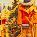 Xmas Tree in heartwarming fashion shop ~温かいお店