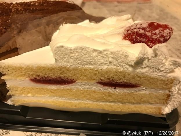 Xmas、念願のケーキ~まいう~感涙