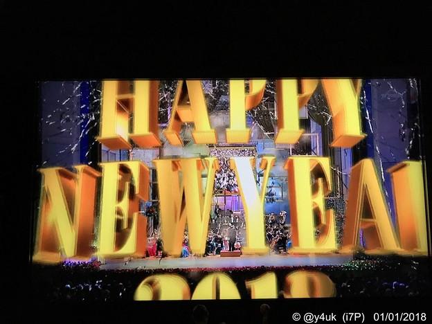 HAPPY NEW YEAR 2018~ジルベスターカウントダウン~00:00:00Just time!