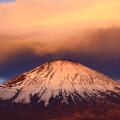写真: 紅富士の時