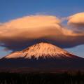 写真: 離れ雲