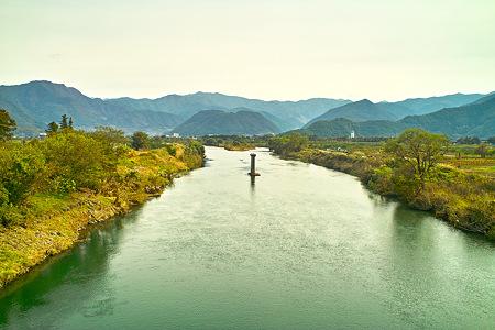 千曲川より皆神山を望む(SDIM0217c)