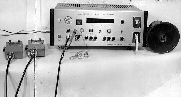 警察初期ネズミ捕り測定機