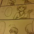 写真: 仕事中に描いた3コマ漫画…...