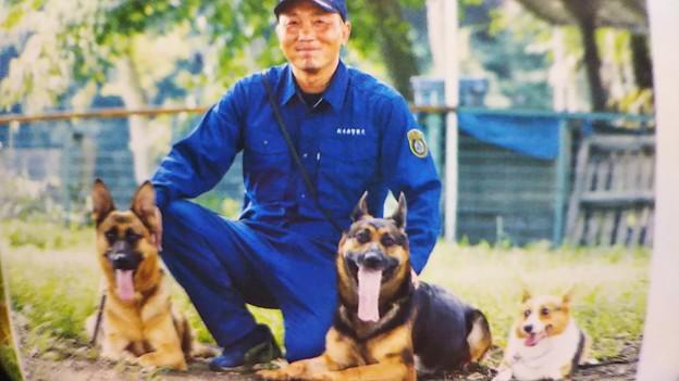 栃木県の警察犬と災害救助犬と池上祐二さん