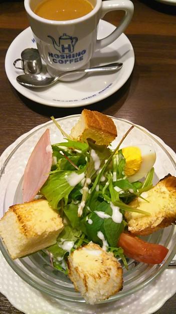 星野珈琲で朝食を。 #インスタ映え