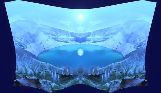 写真: カルデラ湖-03(1-5)