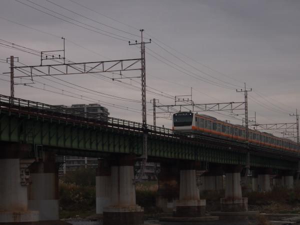 JR中央線多摩川橋梁