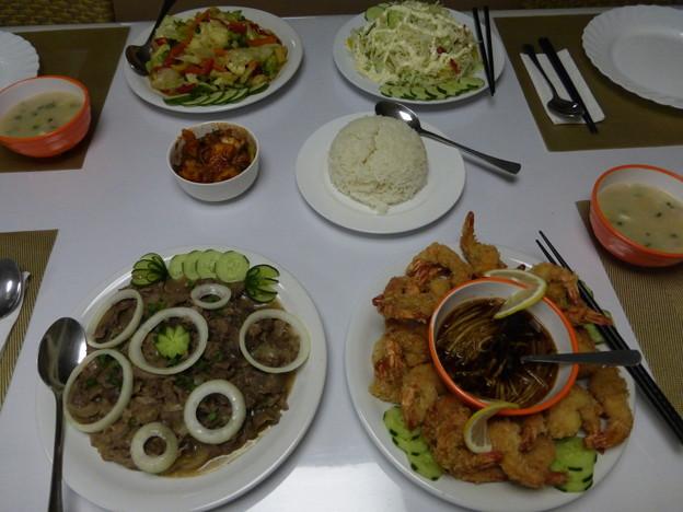 Photos: パラオスポート号のディナー