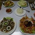 パラオスポート号のディナー