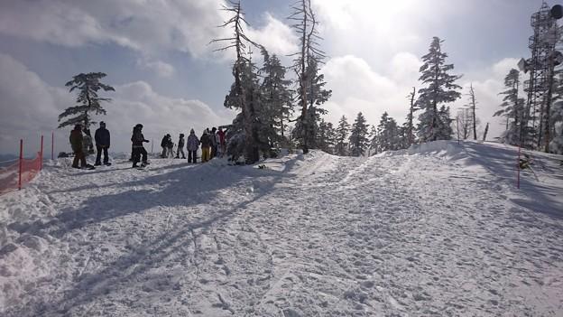 筍山頂上(標高1789.7m)