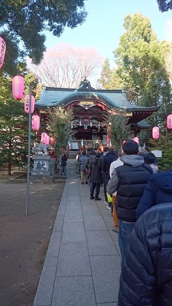 中野氷川神社への初詣
