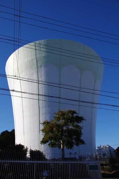 能見台高区配水槽