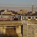 写真: 東武東上線と東京メトロ副都心線