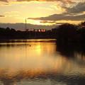 写真: 夕陽(12月1日)