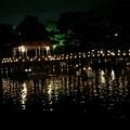 写真: 浮見堂:奈良燈火絵12