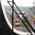 写真: 宝山寺1号線[ミケ]:ケーブルカー06