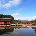 写真: 東院庭園:晩秋平城宮跡01