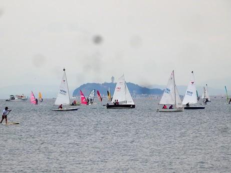 Photos: 逗子海岸~ヨット