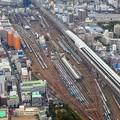 電車の車庫~新大阪
