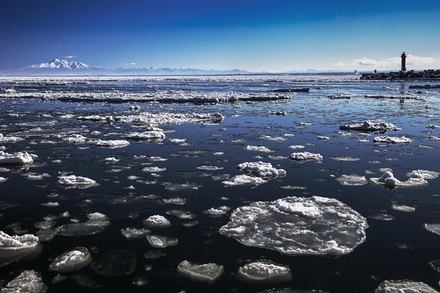 写真: 流冰