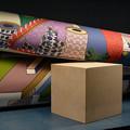 写真: スカーフのデザイン