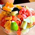 写真: 綜合水果冰