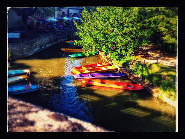 Oxford boat