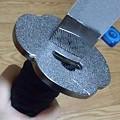 Photos: 【急/募】刀のこの部分の外し方分かる人(´・ω・`)金属で出来てるから...