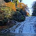 写真: 粟又の滝