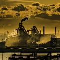 写真: 萌え工場「扇島」