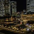 写真: 駅前広場