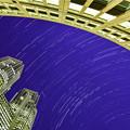 写真: 都庁の夜空